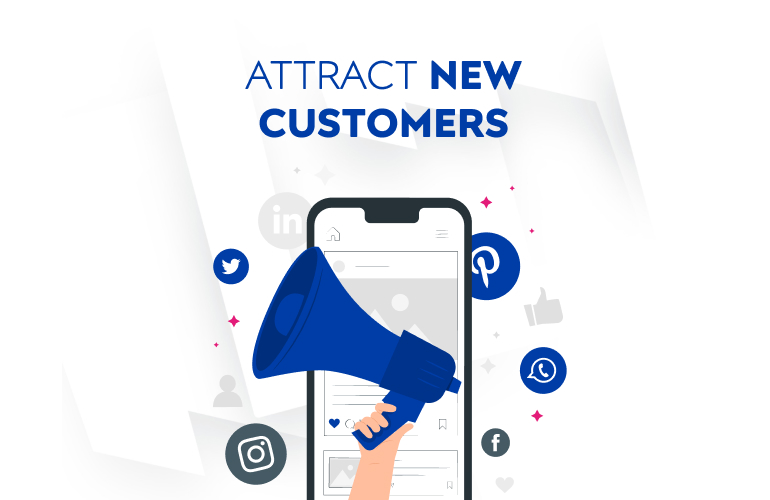 Attract new customers to your digital commerce business